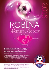Join the force in Womens Soccer on the Gold Coast